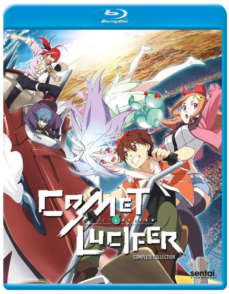 Sentai Filmworks Comet Lucifer Blu-Ray