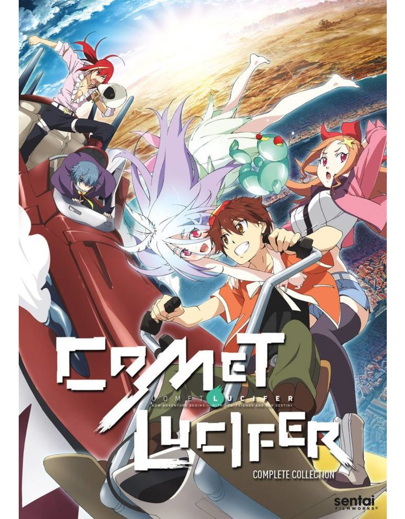 Sentai Filmworks Comet Lucifer DVD*