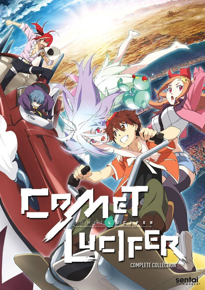 Sentai Filmworks Comet Lucifer DVD