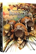 Funimation Entertainment Attack on Titan Season 1 Blu-Ray/DVD