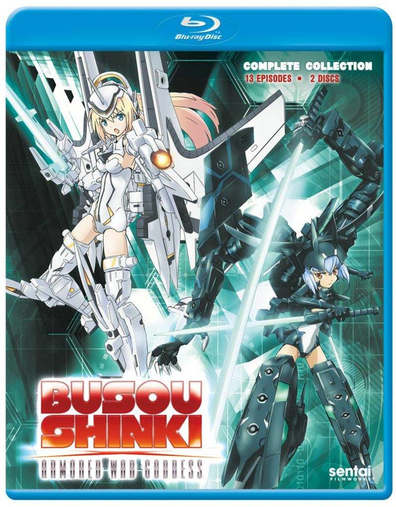 Sentai Filmworks Busou Shinki Armored War Goddess Complete Collection Blu-Ray
