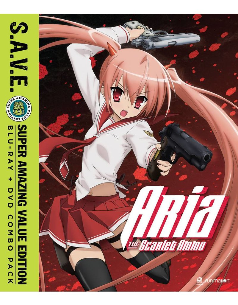 Funimation Entertainment Aria the Scarlet Ammo (S.A.V.E. Edition) Blu-Ray/DVD*