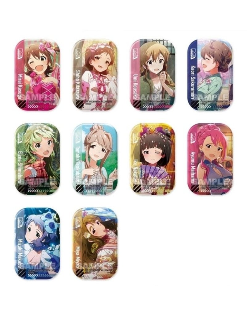 Idolm@ster Million Live x WEGO Can Badge A
