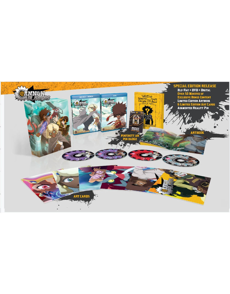 Funimation Entertainment Cannon Busters Limited Edition Blu-ray/DVD