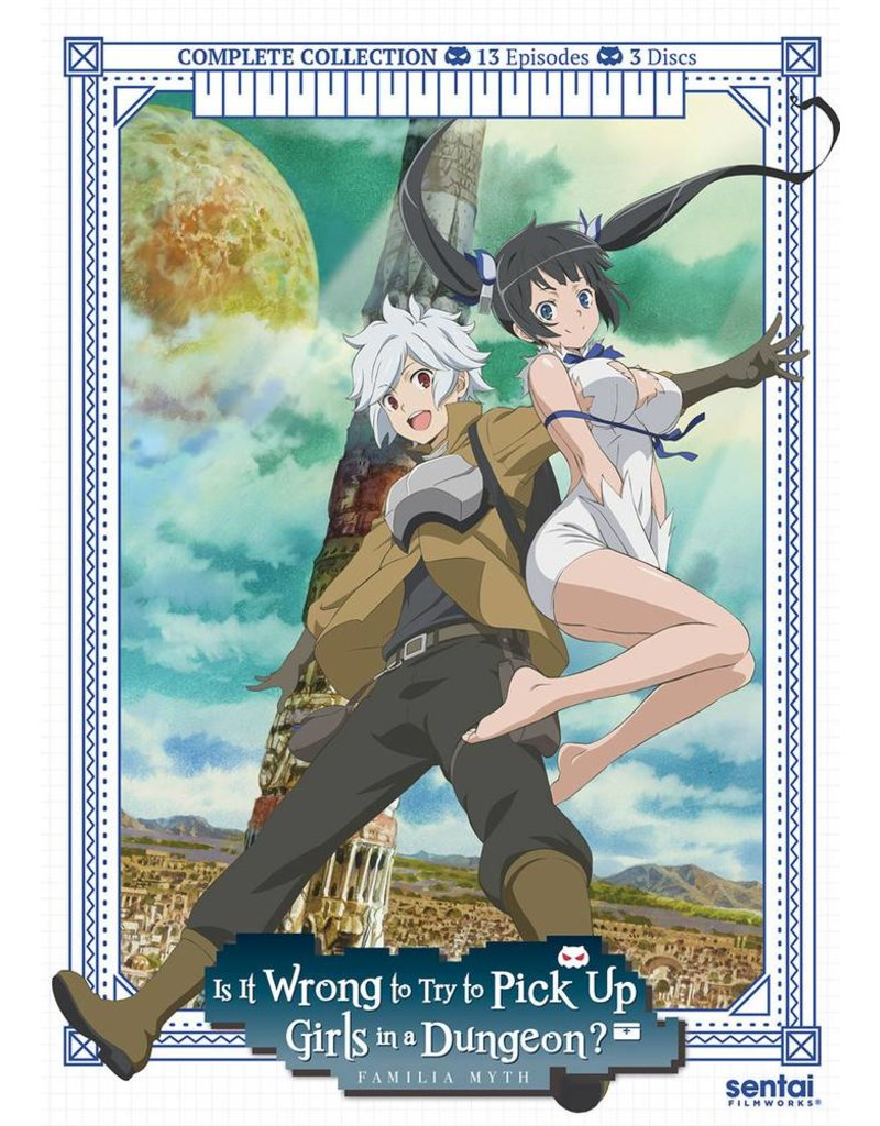 Sentai Filmworks Is It Wrong to Try to Pick Up Girls in a Dungeon? DVD*