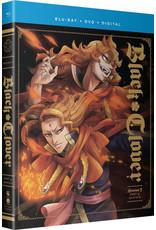 Funimation Entertainment Black Clover Season 3 Part 4 Blu-ray/DVD
