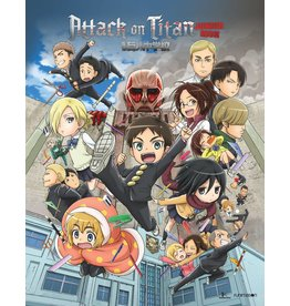 Funimation Entertainment Attack on Titan Junior High Blu-Ray/DVD LE*