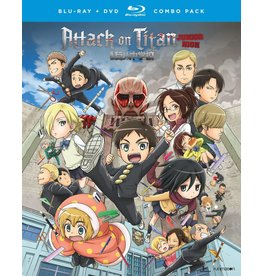 Funimation Entertainment Attack on Titan Junior High Blu-Ray/DVD*
