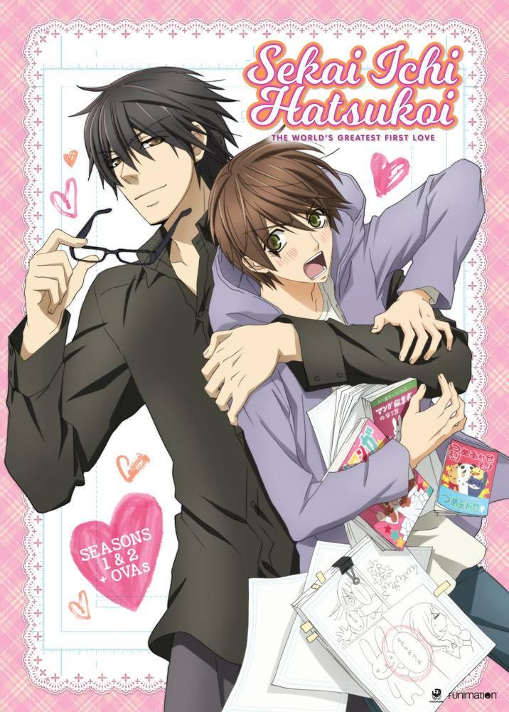 Funimation Entertainment Sekai Ichi Hatsukoi S1/S2 DVD