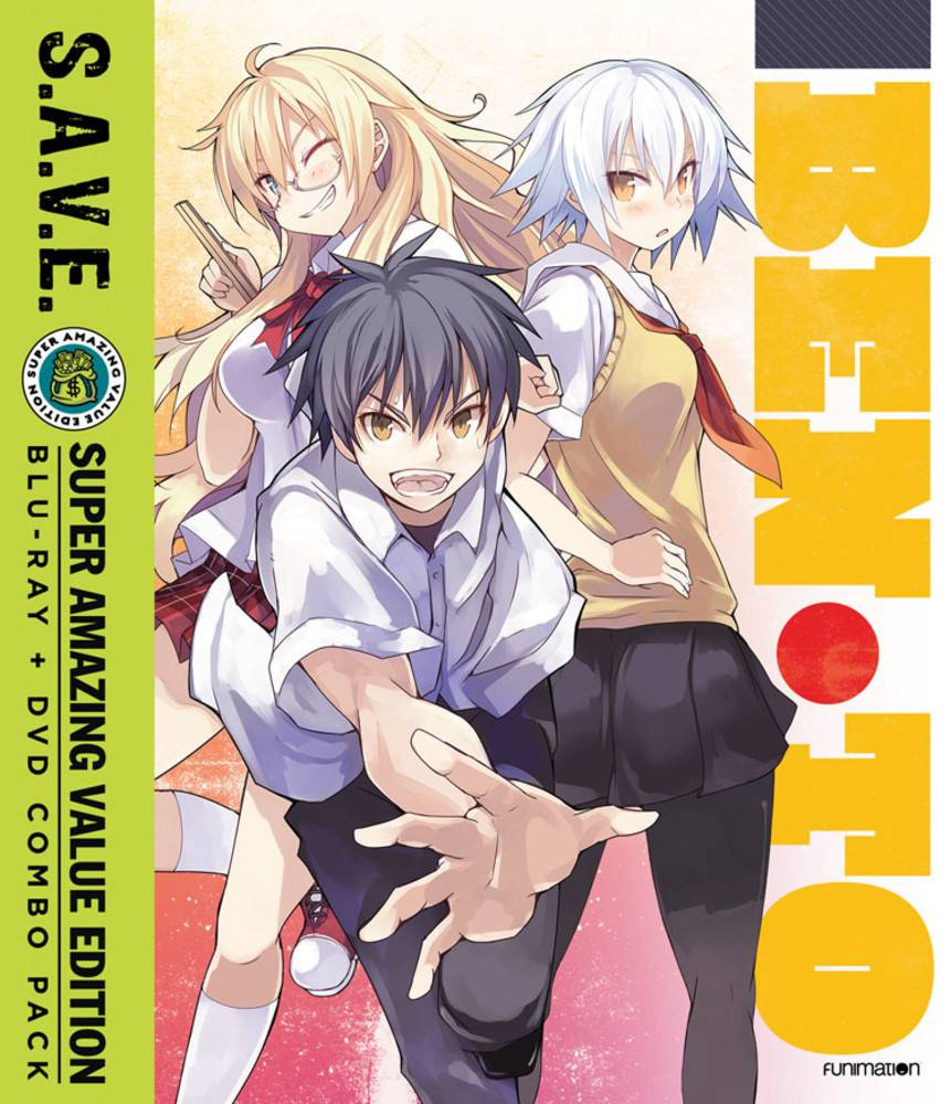 Funimation Entertainment Ben-To Complete Series (S.A.V.E. Edition) Blu-Ray/DVD