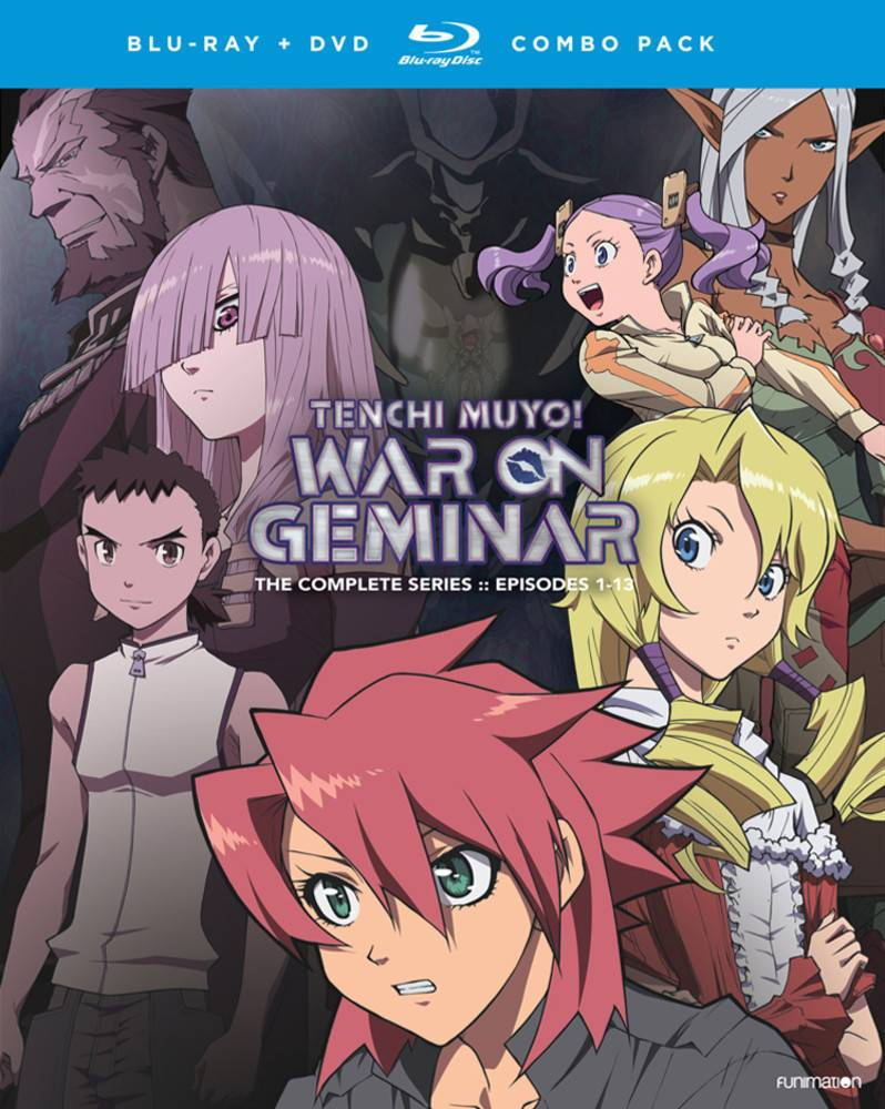 Funimation Entertainment Tenchi Muyo War on Geminar Complete Series Blu-Ray/DVD