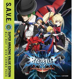 Funimation Entertainment BlazBlue Alter Memory Complete Series (S.A.V.E. Edition) Blu-Ray/DVD*