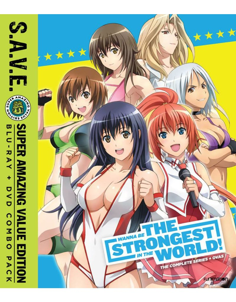 Funimation Entertainment Wanna Be the Strongest in the World Complete Series (S.A.V.E. Edition) Blu-Ray/DVD*