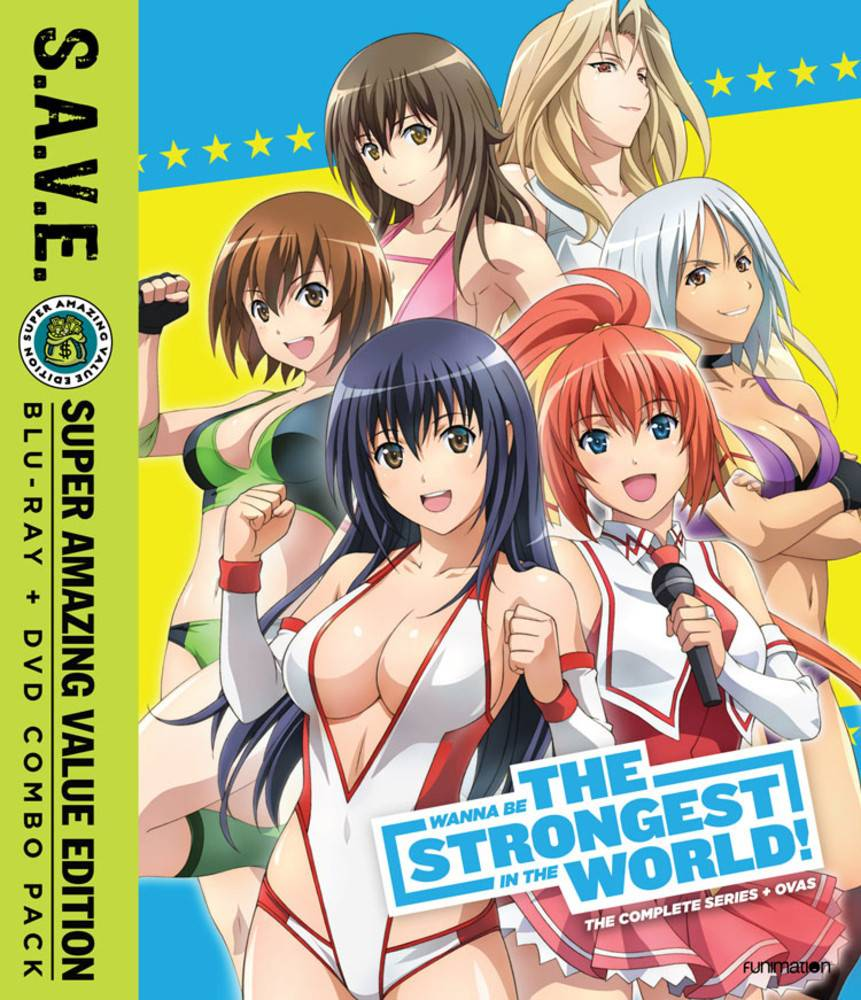 Funimation Entertainment Wanna Be the Strongest in the World Complete Series (S.A.V.E. Edition) Blu-Ray/DVD