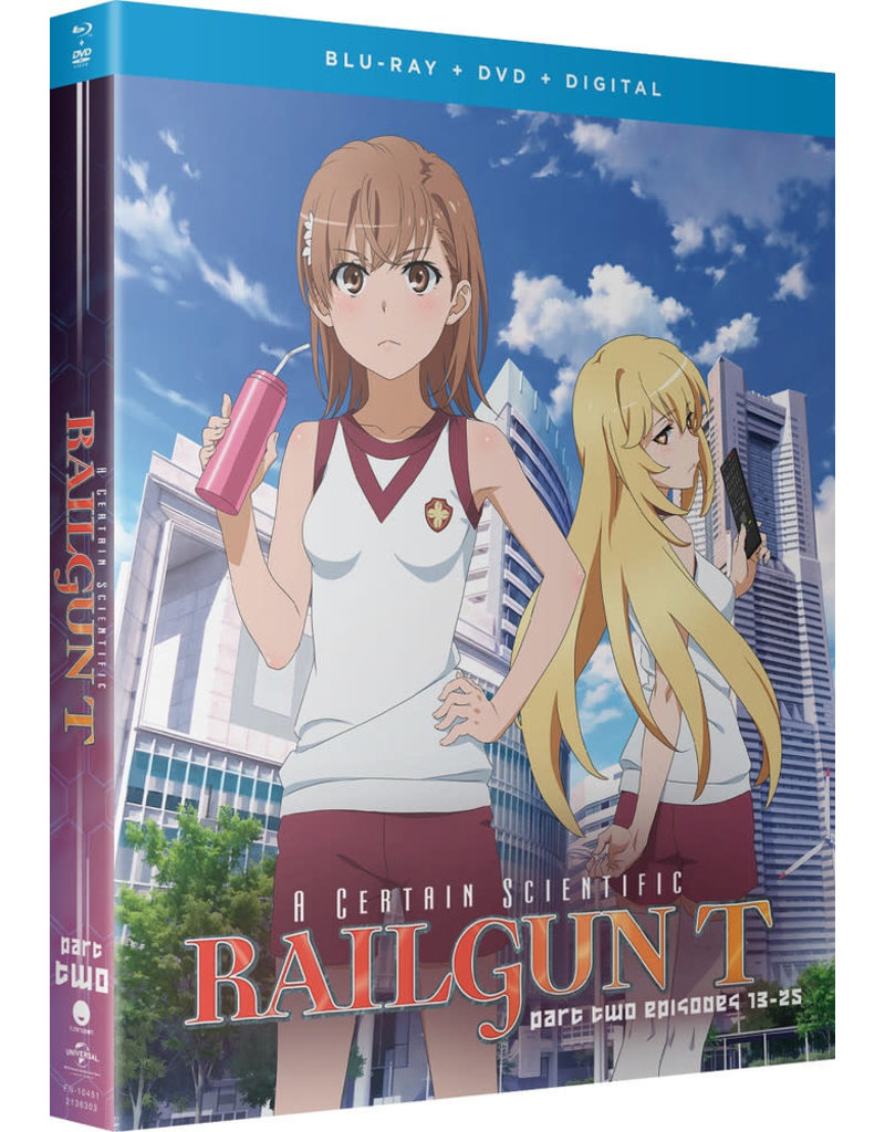 Funimation Entertainment Certain Scientific Railgun T, A Part 2 Blu-ray/DVD