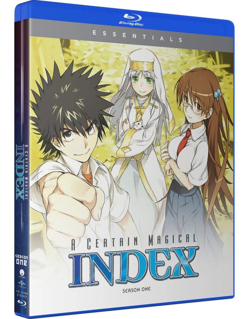 Funimation Entertainment Certain Magical Index Season 1 Essentials Blu-Ray