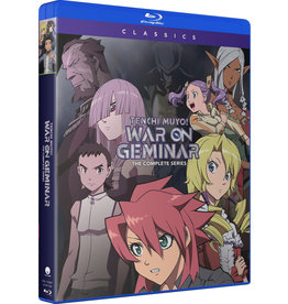 Funimation Entertainment Tenchi Muyo War on Geminar Classics Blu-ray