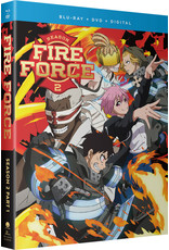 Funimation Entertainment Fire Force Season 2 Part 1 Blu-ray/DVD