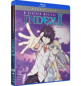 Funimation Entertainment Certain Magical Index II (Season 2 Set) Essentials Blu-Ray