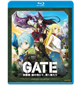 Sentai Filmworks GATE Blu-ray
