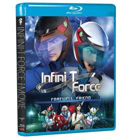 Viz Media Infini-T Force Movie Farewell Friend Blu-Ray