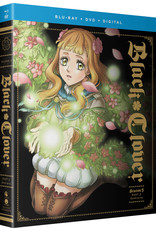 Funimation Entertainment Black Clover Season 3 Part 5 Blu-ray/DVD