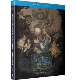 Funimation Entertainment Muhyo & Roji's Bureau of Supernatural Investigation Season 1 Blu-ray