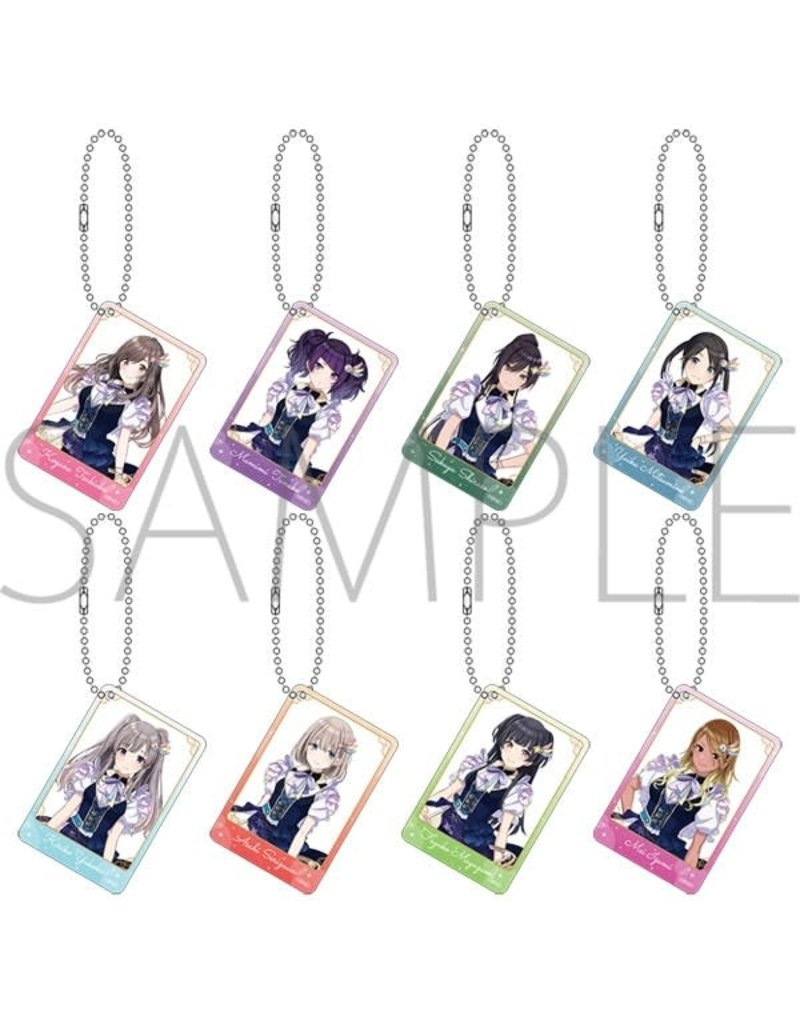 Movic Idolm@ster Shiny Colors Acrylic Keychain Collection B