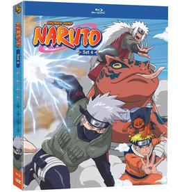 Viz Media Naruto Set 4 Blu-Ray