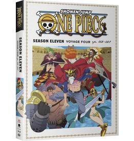 Funimation Entertainment One Piece Season 11 Part 4 Blu-ray/DVD