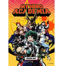 Funimation Entertainment My Hero Academia Season 1 Blu-Ray/DVD