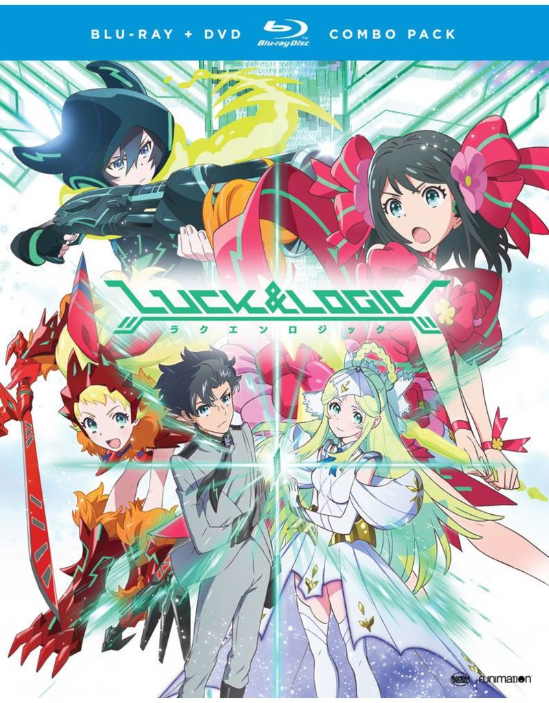 Funimation Entertainment Luck and Logic Season 1 Blu-Ray/DVD*