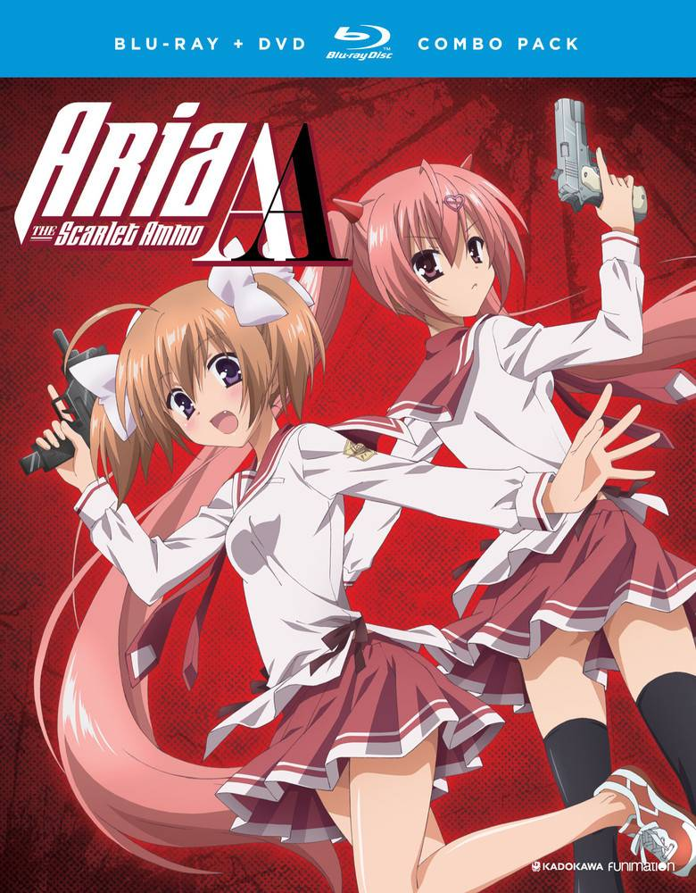 Funimation Entertainment Aria the Scarlet Ammo AA (Season 2) Blu-Ray/DVD*