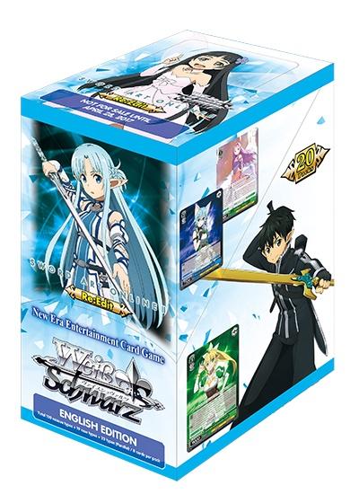 Bushiroad Sword Art online Re:edit (Full Booster Box) Weiss Schwarz
