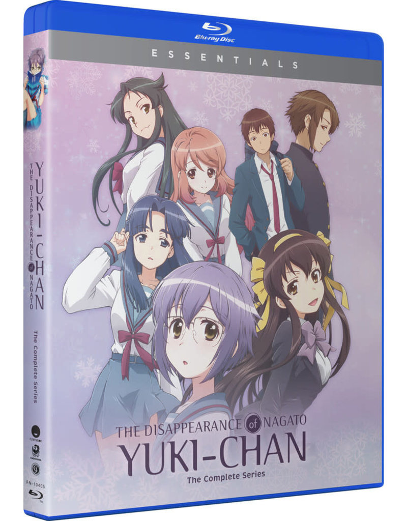 Funimation Entertainment Disappearance of Nagato Yuki-chan, The Essentials Blu-ray