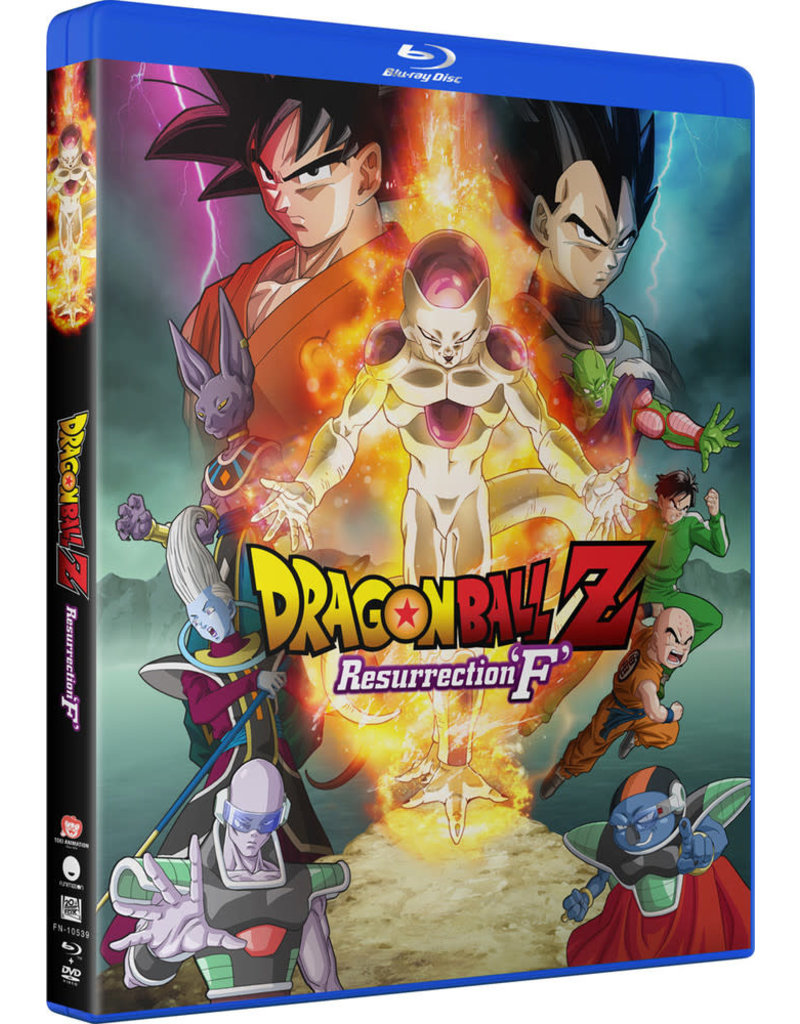 Funimation Entertainment Dragon Ball Z Resurrection F Blu-ray/DVD
