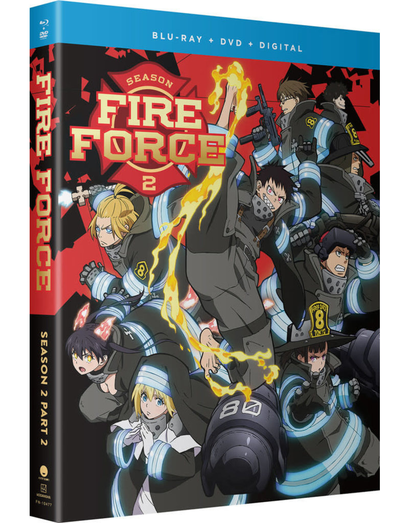 Funimation Entertainment Fire Force Season 2 Part 2 Blu-ray/DVD
