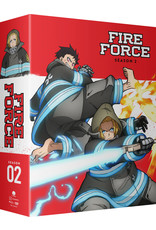 Funimation Entertainment Fire Force Season 2 Part 2 Limited Edition Blu-ray/DVD