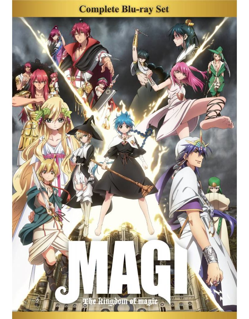 Aniplex of America Inc Magi: The Kingdom of Magic Complete BD Box Set