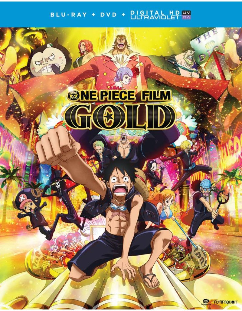 Funimation Entertainment One Piece Film Gold Blu-Ray/DVD