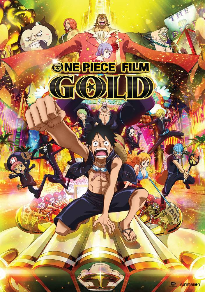 Funimation Entertainment One Piece Film Gold DVD