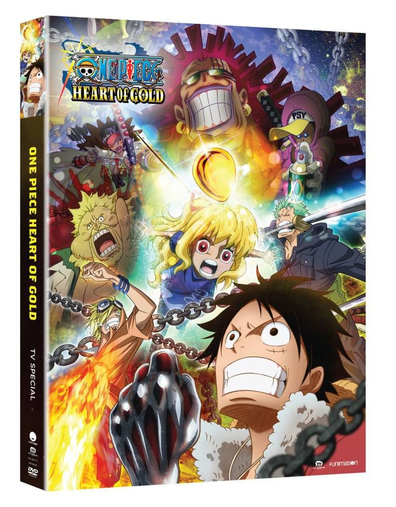 Funimation Entertainment One Piece Heart of Gold TV Special DVD