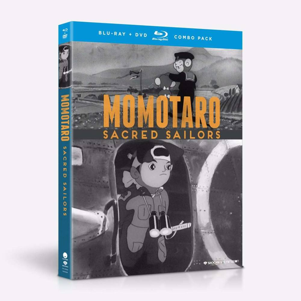 Funimation Entertainment Momotaro Sacred Sailors Blu-Ray/DVD