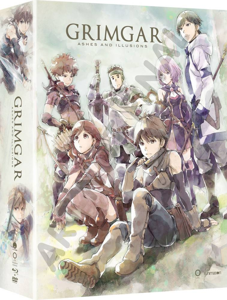 Funimation Entertainment Grimgar Ashes and Illusions Blu-Ray/DVD LE