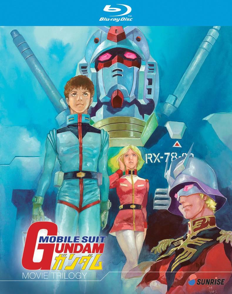 Nozomi Ent/Lucky Penny Gundam Movie Trilogy Blu-Ray