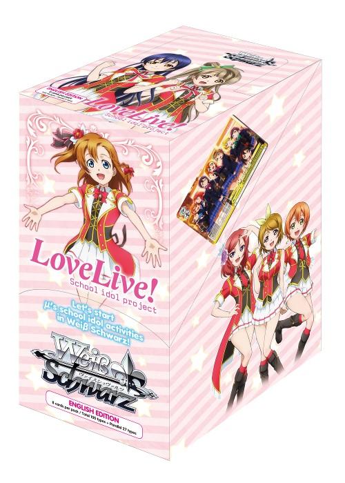 Bushiroad Love Live Set 1 (Full Booster Box) Weiss Schwarz*