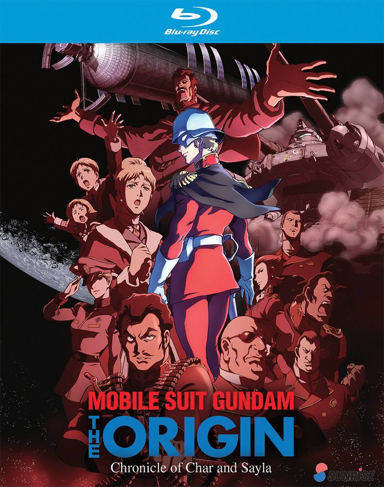 Nozomi Ent/Lucky Penny Gundam The Origin Chronicle of Char and Sayla Blu-Ray