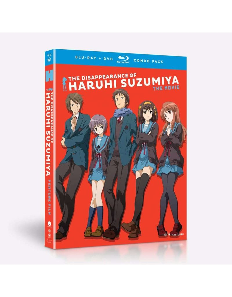 Funimation Entertainment Disappearance of Haruhi Suzumiya, The Blu-Ray/DVD