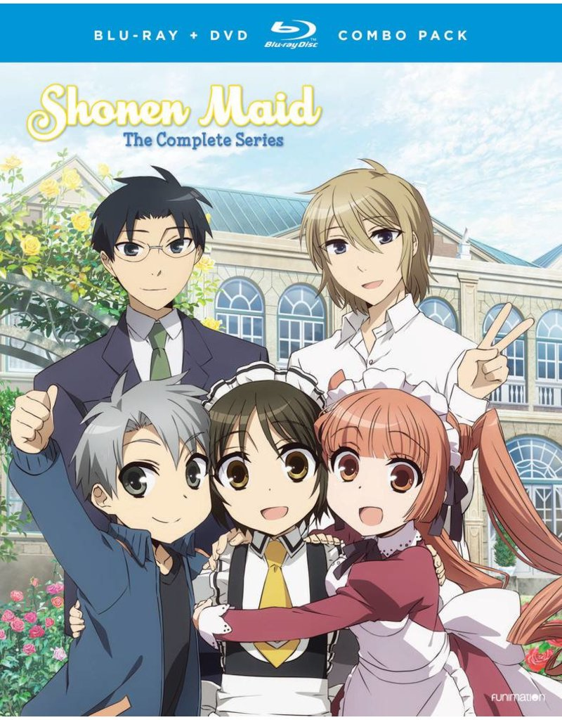 Funimation Entertainment Shonen Maid Complete Series Blu-Ray/DVD*