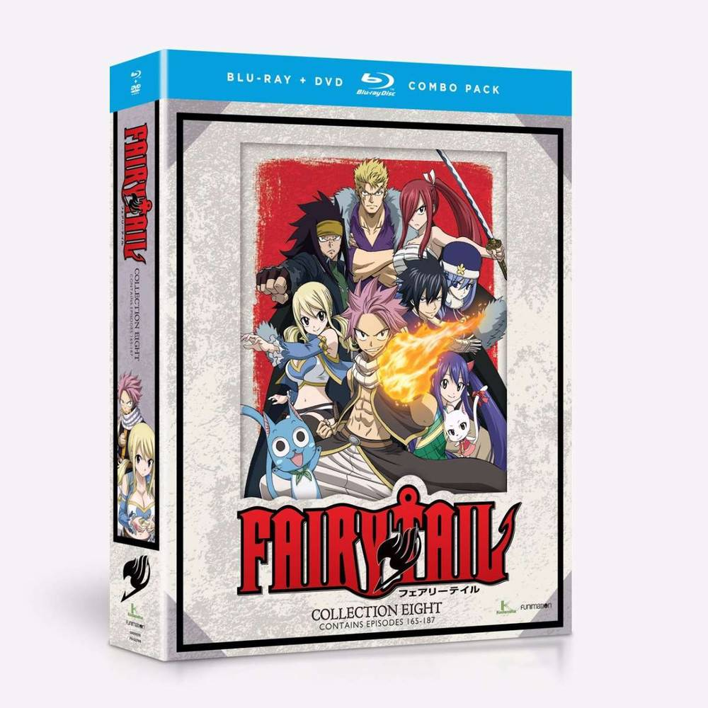 Funimation Entertainment Fairy Tail Collection 8 Blu-Ray/DVD